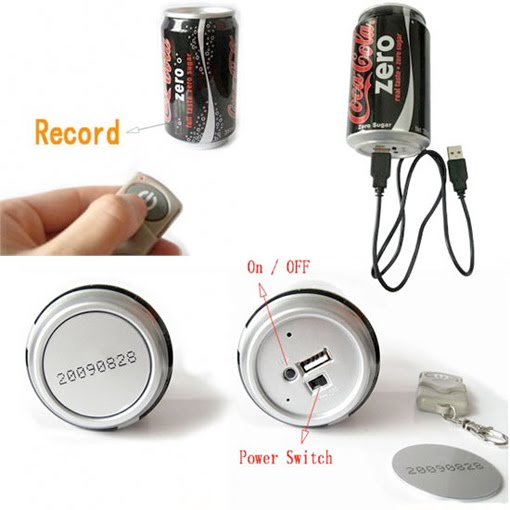 video recording coca cola can